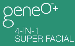 LOGO: Geneo + 4-in-1 Super Facial