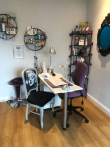 Nail station at Beauty By Janice